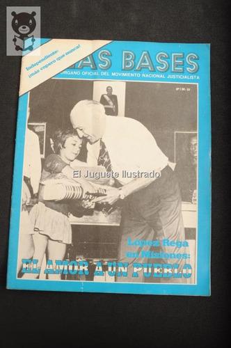 Las Bases Num 136 1975 Movimiento Peronista Lopez Rega