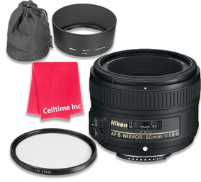 Nikon Af-s Nikkor Fx 50mm F / 1.8g Lente Con Enfoque