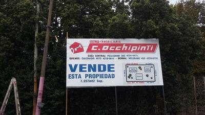 Fraccion Muy Buena Ubicacion Con Chalet Y Casa Para Casero