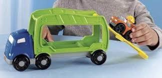 Juguete Remolque De Autos Little People Fisher Price