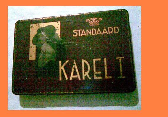 Cajita De Cigarros Karel 1 Standaard Er Is Maar Ëën Karel 1
