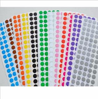 Etiqueta Bolinha Peq. Colorida 24000 Etiquetas Frete R$10,90