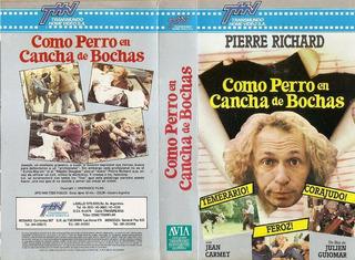 Como Perro En Cancha De Bochas Vhs Pierre Richard