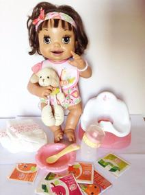 Boneca Baby Alive Troninho Completa - Reborn - Português