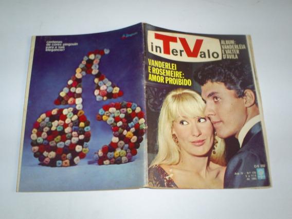 Revista Intervalo Nº 178 - 06/66 - Vanderlei E Rosemeire