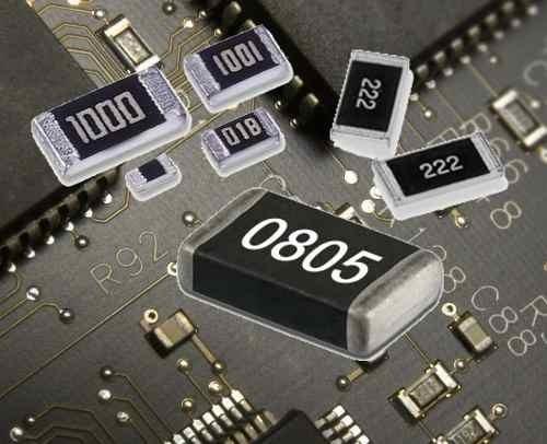 Resistor Smd 0805 243 24k 24.000 Ohms 5% 0.25watt 100 Peças