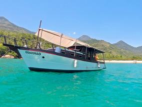 Barco Clássico De Madeira, Turismo, Passeio, Pesca