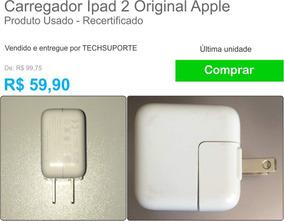 Carregador iPad 2 Original Apple