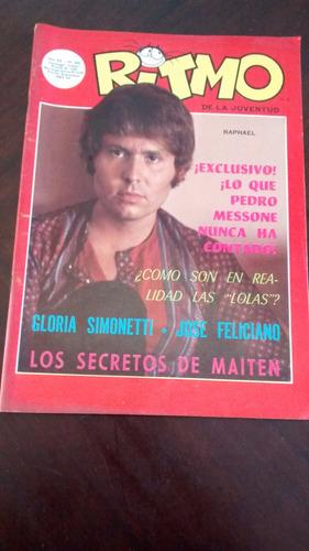 Revista Ritmo N° 268 - Raphael  - Foto Vip N°18 P.mesone(396