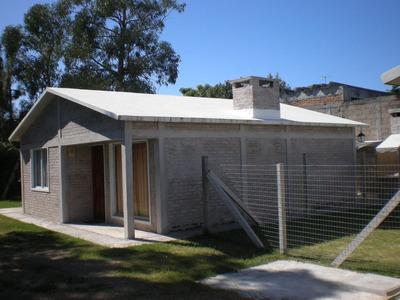 Construimos Su Casa 49 M2, 2 Dorm, Ladrillo Y Plancha