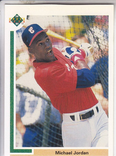 1991 Upper Deck Baseball Michael Jordan White Sox