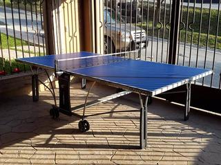 Mesa De Ping Pong Para Exterior Cornilleau Como Nueva