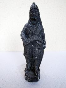 Antiga Escultura Gesso Oséias Aleijadinho Restauro Pequeno
