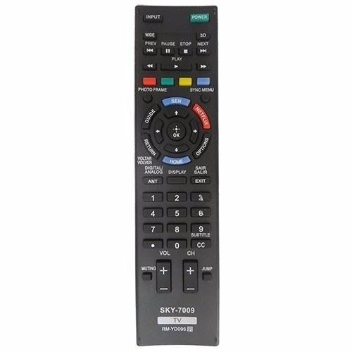 2 Controles Remoto Tv Sony Bravia Netflix Kdl-40w605b 48w605