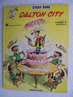 Lucky Luke - Dalton City - Editora Martins Fontes - 1984