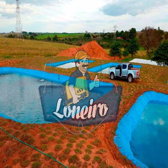 Lona Plástica 5x7 Mts Lago Tanque Peixes Casa Jardim 300 Mic