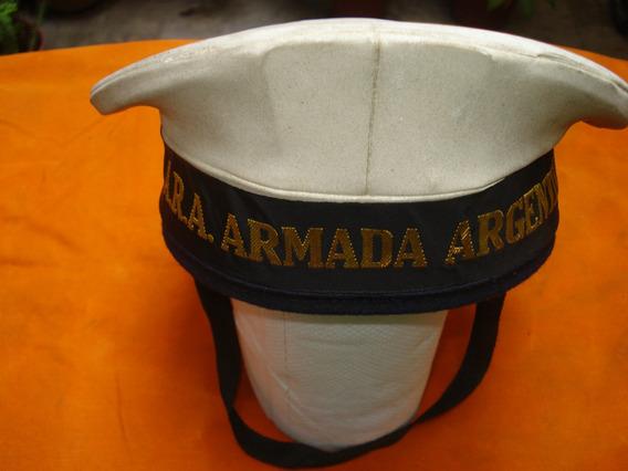 Antigua Gorra Marinera Original Ara Con Cinta Bordada!!