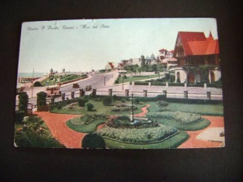 Tarjeta Postal Antigua Mar Del Plata