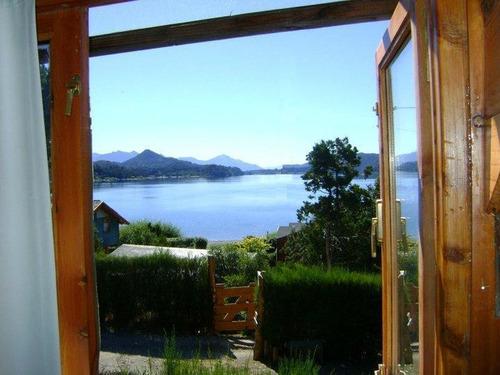 Cabañas - Bariloche - Vista Al Lago N. Huapi !!!