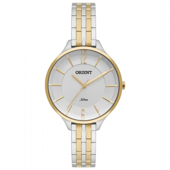 Relógio Orient Ftss0041 S2sk Feminino Doura Prata - Refinado