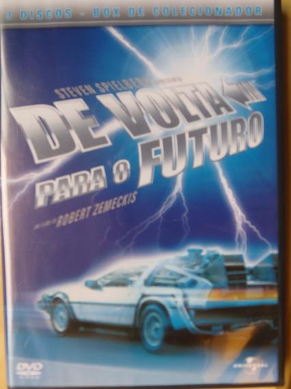 Dvd Filmes: De Volta Para O Futuro 1, 2 E 3 - Trilogia