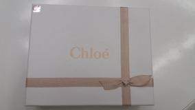 Caixa Vazia Do Estojo Chloe Água Perfume Original Oferta!!