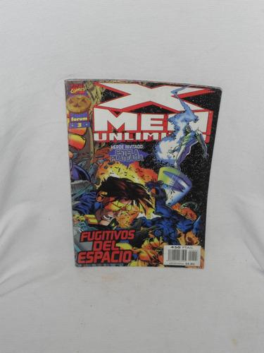 Imagen 1 de 1 de X- Men Unlimited Fugitivos Del Espacio Con Estela Plateada.