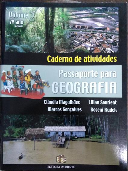 Caderno De Atividades Passaporte Para Geografia Vol 2 7º Ano