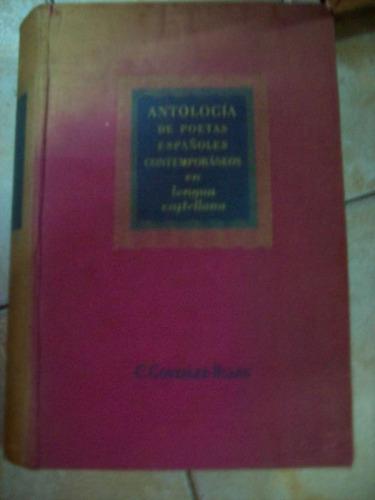Antologia De Poetas Españoles Contemporaneos D Gonzalezruano