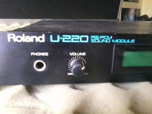Modulo Sonido Midi Roland U220 Japon Gtia Envio Tarjeta!