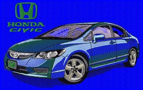 Bordado Pronto Patch Bca4576 Honda Civic2