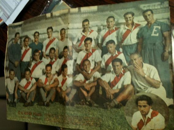 Poster Ravista La Cancha 1943 River