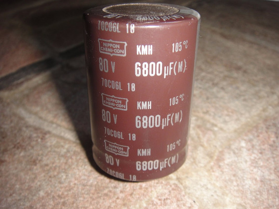 Capacitor 6800-80 Volts