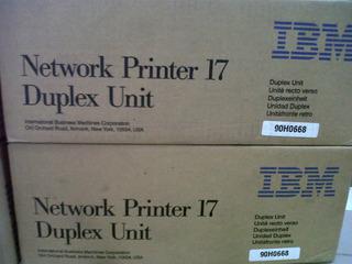 Duplex Original Ibm4317 Network Printer 17,xerox N17 90h0668