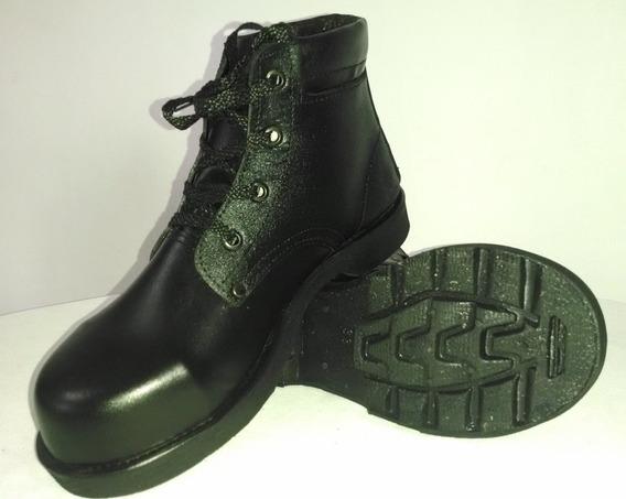 Botas Cuero Puntera Seguridad Zapatos Dotacion Economicas