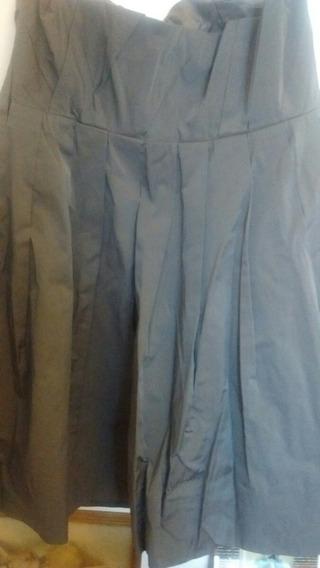 Vestido De Mujer Zara Strapless