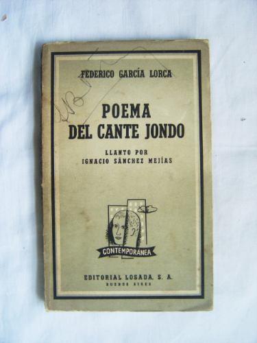 Poema Del Cante Jondo / Federico García Lorca