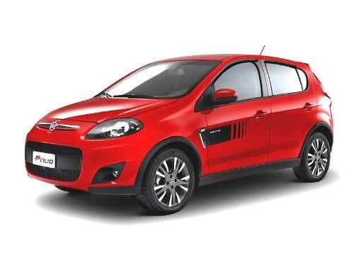 Defletor De Chuva Para Novo Fiat Palio 4 Portas Tg Poli