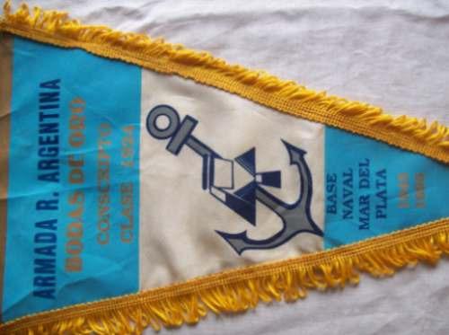 Banderín Armada R. Argentina Bodas De Oro