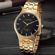 Relógio Masculino Dourado!