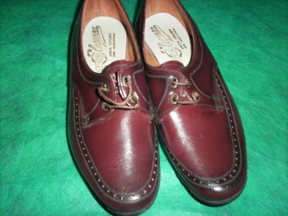 Zapato Vintage Niño Acordonado Vaca Sport Nº32