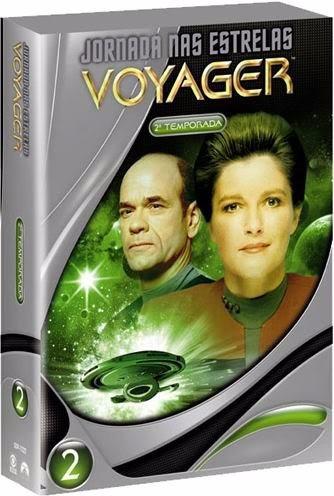 Jornada Nas Estrelas Voyager Segunda Temporada Box Original