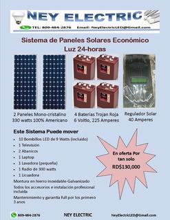 Sistema De Paneles Solares Super Economico