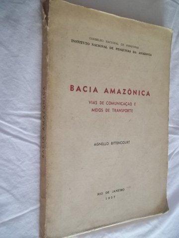 * Livro - Bacia Amazônica - Raro