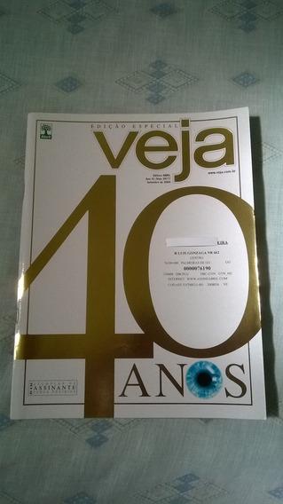 *jl Revista Veja Edição Especial 40 Anos Setembro 2008*