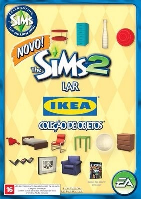 The Sims 2 Lar E Coleção De Objetos Para Pc