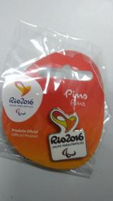 Pin Oficial Logo Paralímpica Recortada