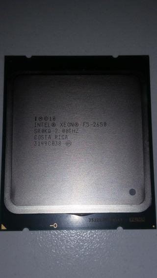 Processador Xeon E5-2650 20m 2.00gh Octa Core Socket Lga2011