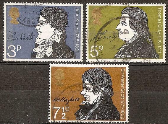 Inglaterra Gran Bretaña Serie 640/2 Año 1971