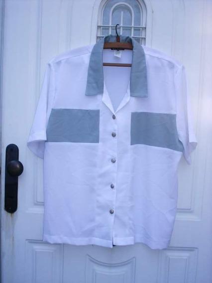 Camisa Tg Xxl Verano Para Mamá! Busto 114 Cm./ M Pago*